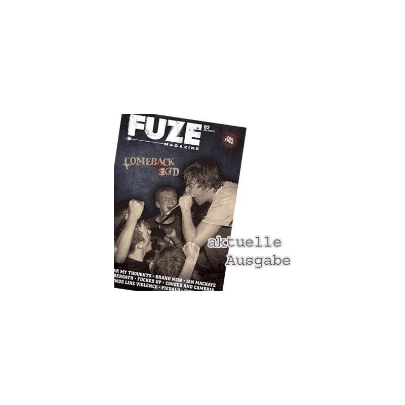 Aktuelle Ausgabe fuze magazine aktuelle ausgabe