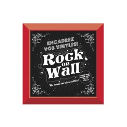 Rock On Wall - LP Rahmen - rot