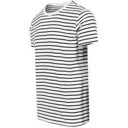 Urban Classics - TB1571 - Striped Tee - white/black
