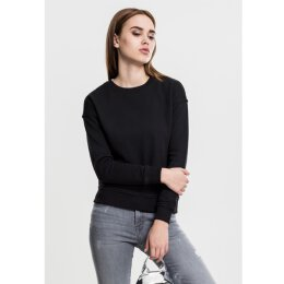Urban Classics - TB1522 Ladies Sweat Crew - black