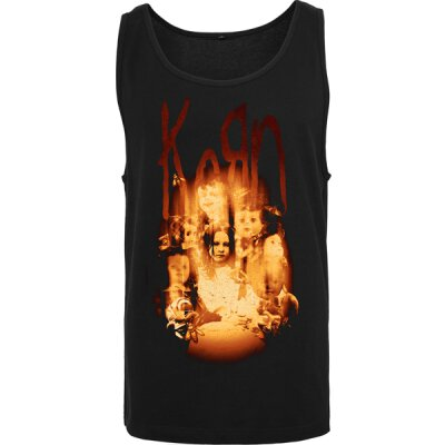 Korn - Face In The Fire - Tanktop - black