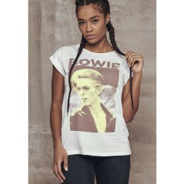 David Bowie - Ladies - Tee - white