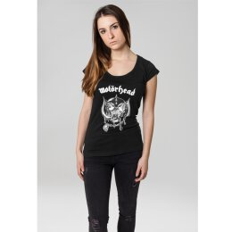 Motörhead - Ladies - Logo - Cutted Back Tee - black