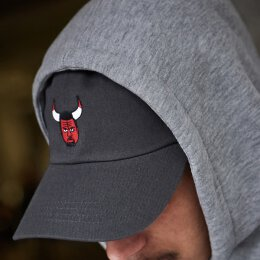 Turn Up - Angry Dad Cap - darkgrey - osfa