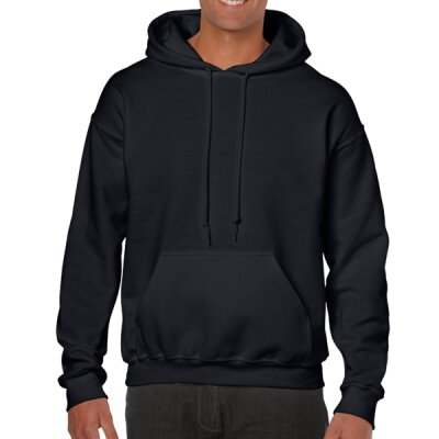 Gildan - 18500 Unisex Heavy Blend Hooded Sweat - black