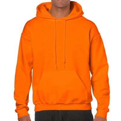 Gildan - 18500 Unisex Heavy Blend Hooded Sweat - safety orange (neon)