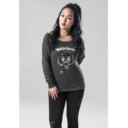 Motörhead - Ladies - Logo - Burnout Open Edge Crewneck -...