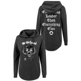 Motörhead - Ladies - Everything Louder - Oversized Hoodie