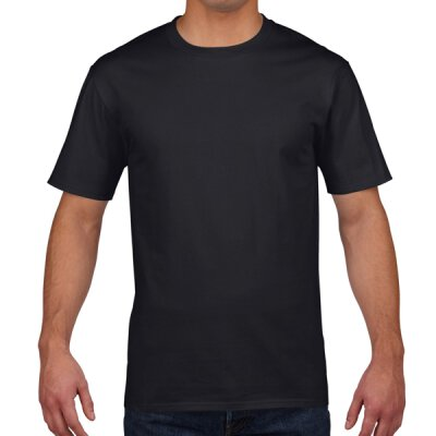 Gildan - 4100 Unisex Premium Cotton Ring Spun T-Shirt - black