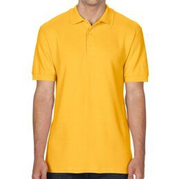 Gildan - 85800 Premium Cotton Double Piqué Polo Shirt - gold