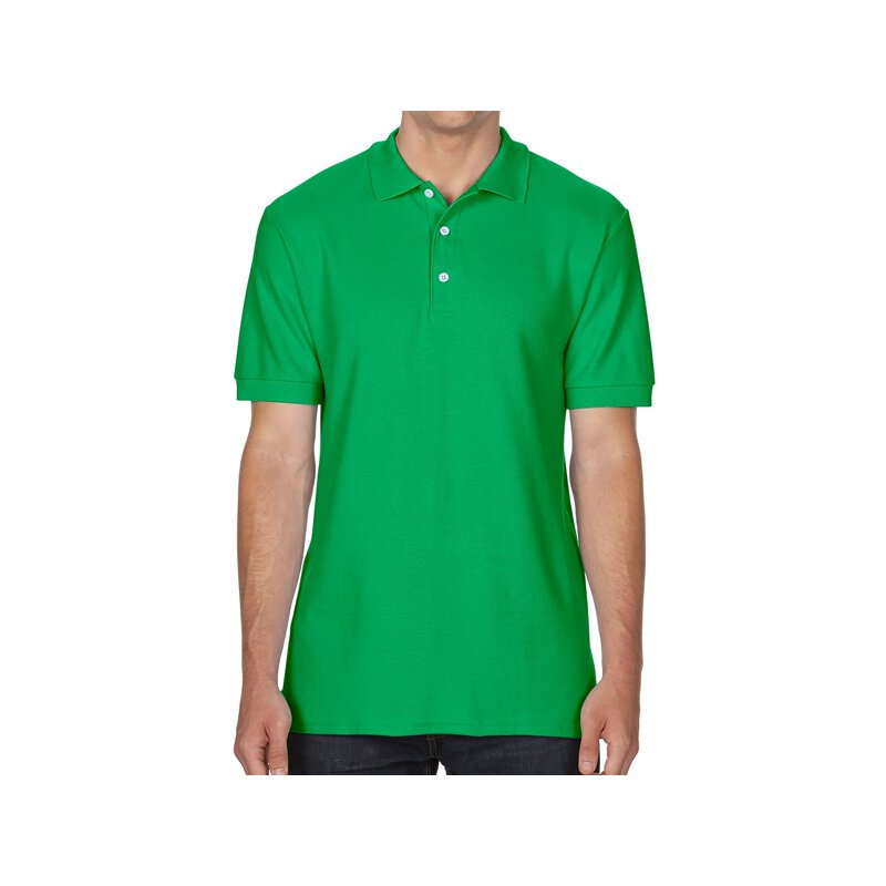 Gildan 85800 Premium Cotton Double Piqu Polo Shirt Irish