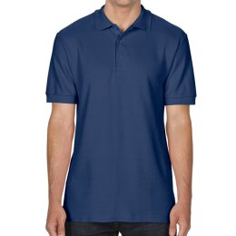 Gildan - 85800 Premium Cotton Double Piqué Polo Shirt - navy