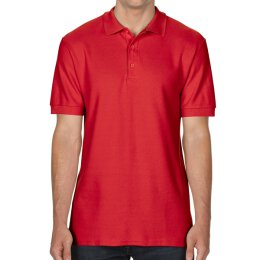 Gildan - 85800 Premium Cotton Double Piqué Polo Shirt - red