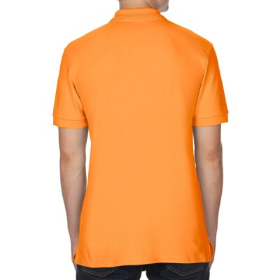 Gildan - 85800 Premium Cotton Double Piqué Polo Shirt - tangerine