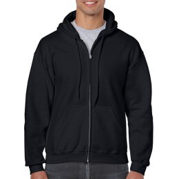 Gildan - 18600 Unisex Heavy Blend Zip Hooded Sweatshirt -...