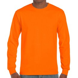 Gildan - 2400 Unisex Ultra Longsleeve - safety orange