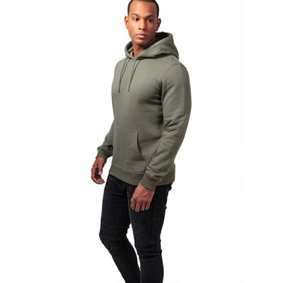 Urban Classics - TB1592 Basic Sweat Hoody - olive