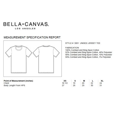 Bella + Canvas - 3001 Unisex Jersey Crewneck T-Shirt - soft pink