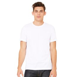Bella + Canvas - 3001 Unisex Jersey Crewneck T-Shirt - white