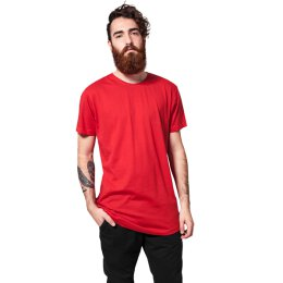 Urban Classics - TB638 - Shaped Long Tee - T-Shirt - fire...
