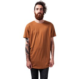 Urban Classics - TB638 - Shaped Long Tee - T-Shirt - toffee