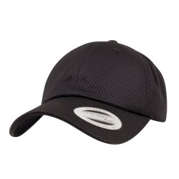 Flexfit - Honeycomb Dad Hat - black - one size