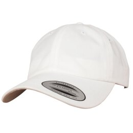 Flexfit - Peached Cotton Twill Dad Cap - white - one size