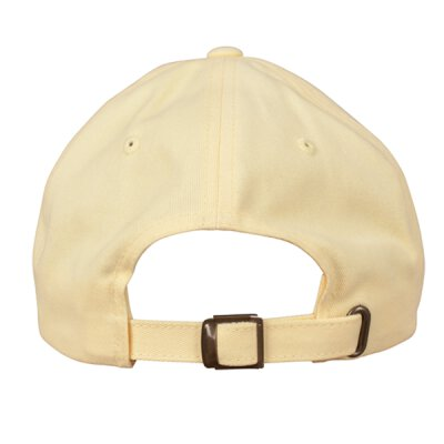 Flexfit - Peached Cotton Twill Dad Cap - yellow - one size