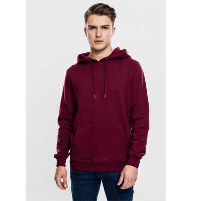 Urban Classics - TB1592 Basic Sweat Hoody - port