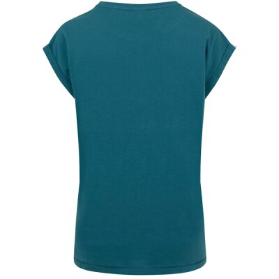 Urban Classics - TB771 - Ladies Extended Shoulder Tee - teal