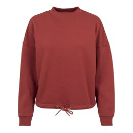 Urban Classics - TB1523 - Ladies Oversized Crew - rusty