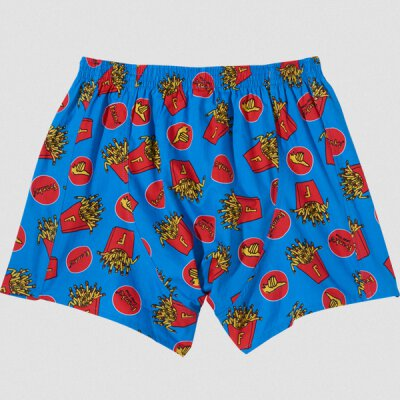 Lousy Livin - Frank Fries - Boxershorts - directoire blue