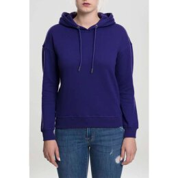 Urban Classics - TB1524 - Ladies Hoodie - regal purple