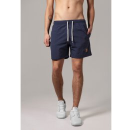Urban Classics - TB1026 - Block Swim Short - navy/navy