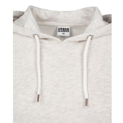Urban Classics - TB1305 - Ladies Cropped Terry Hoody - offwhite melange