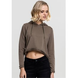 Urban Classics - TB1305 - Ladies Cropped Terry Hoody -...