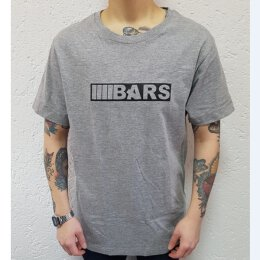 BARS - Boxlogo - T-Shirt - Unisex - heather grey