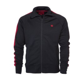 Kings League Trainingsjacke - Track Top - schwarz/rot