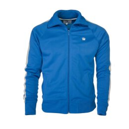 Kings League Trainingsjacke - Track Top - royal blau/weiß