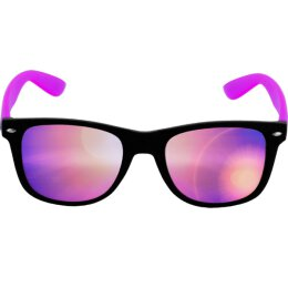 Sonnenbrille - Likoma - Mirror - black/purple/purple