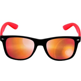 Sonnenbrille - Likoma - Mirror - black/red/red