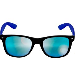 Sonnenbrille - Likoma - Mirror - black/royal/blue