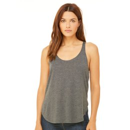 Bella + Canvas - 8802 Womens Flowy Side Slit Tank - dark...