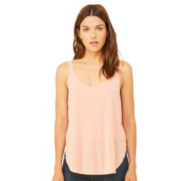Bella + Canvas - 8802 Womens Flowy Side Slit Tank - peach