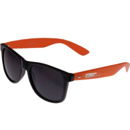 Groove Shades - Wayfarer Style - Sonnenbrille - black/orange