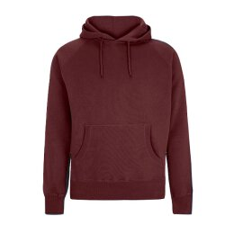 Continental - N51P - Pullover Hooded Sweat - claret red