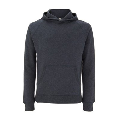 Continental / Salvage - SA41P -  Unisex Hooded Pullover - melange black