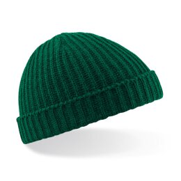 Beechfield - B460 Trawler Fisherman Beanie - bottle green