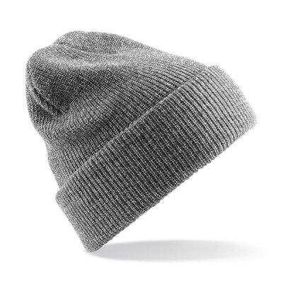 Beechfield - B425 Heritage Beanie - heather grey