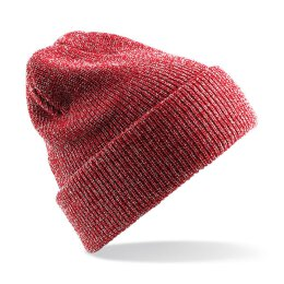 Beechfield - B425 Heritage Beanie - heather red